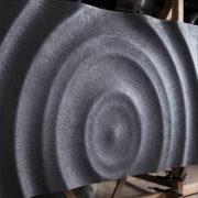 3d falpanel Vízcseppek - beton felület